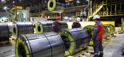 Zaporizhstal launches a new type of cold-rolled steel products