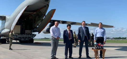 Metinvest delivers humanitarian aid from China to fight coronavirus in Ukraine