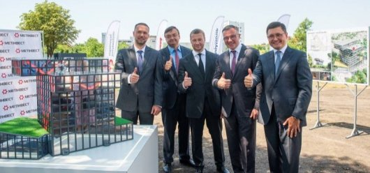 The construction of the Metinvest Polytechnic university complex starts in Mariupol