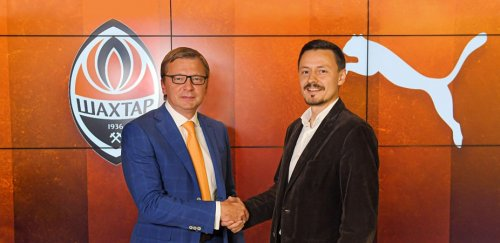 Puma is the new sports partner of FC Shakhtar
