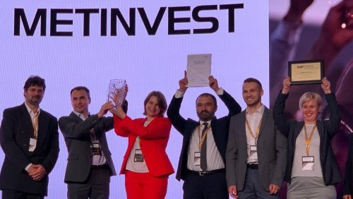 Metinvest Digital won the SAP Quality Awards regional competition